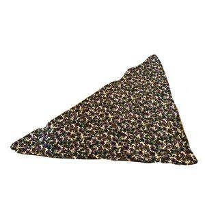 """Vintage Women 28"""" Square Abstract Floral Scarf"""